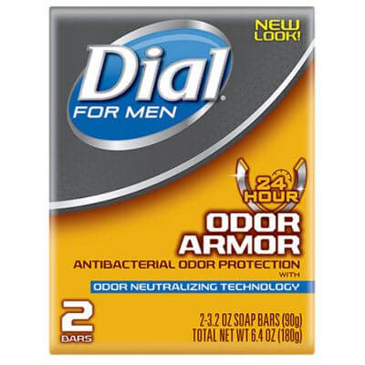 dial soap for men odor armor